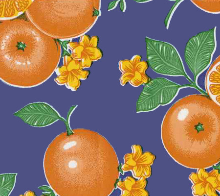 Oranges Oilcloth by the ROLL (2 colors)